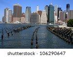Lower Manhattan Skyline Along...