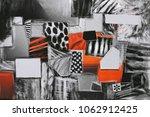 creative dark atmosphere art... | Shutterstock . vector #1062912425