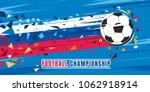 football championship concept... | Shutterstock .eps vector #1062918914