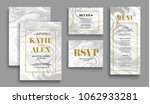 wedding invitation card suite... | Shutterstock .eps vector #1062933281