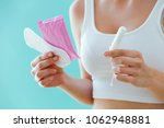 close up of young woman with a... | Shutterstock . vector #1062948881