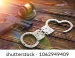 traumatic gun  hammer of the...   Shutterstock . vector #1062949409