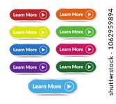 set of learn more button with... | Shutterstock .eps vector #1062959894