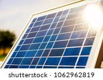 solar elements closeup with... | Shutterstock . vector #1062962819