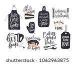collection of elegant lettering ... | Shutterstock .eps vector #1062963875