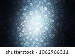 dark blue vector layout with... | Shutterstock .eps vector #1062966311