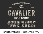 original display alphabet.... | Shutterstock .eps vector #1062981797