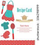 Recipe Card. Kitchen Shower....