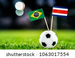 brazil   costa rica  group e ... | Shutterstock . vector #1063017554