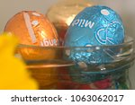 easter decoration and... | Shutterstock . vector #1063062017