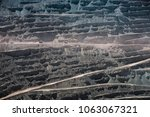 chuquicamata  world's biggest... | Shutterstock . vector #1063067321