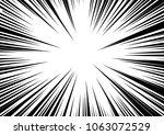 speed line fast motion... | Shutterstock . vector #1063072529