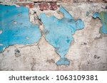 old wall with texture | Shutterstock . vector #1063109381