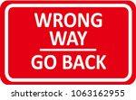 vector of australian road sign... | Shutterstock .eps vector #1063162955