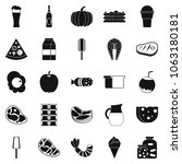 seed icons set. simple set of... | Shutterstock . vector #1063180181