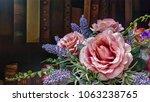 beautiful flowers brighten dull ... | Shutterstock . vector #1063238765