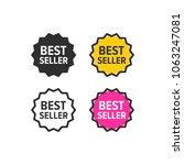 best seller icon | Shutterstock .eps vector #1063247081