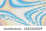 abstract colorful mosaic.... | Shutterstock .eps vector #1063263029