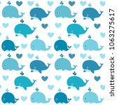 ocean vector seamless pattern...   Shutterstock .eps vector #1063275617