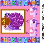 vector illustration of jigsaw... | Shutterstock .eps vector #1063298087