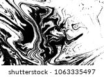 black and white liquid texture. ... | Shutterstock .eps vector #1063335497