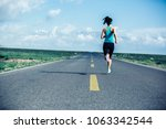 young fitness healthy lifestyle ... | Shutterstock . vector #1063342544