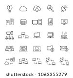 set of quality universal... | Shutterstock .eps vector #1063355279