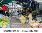 samut songkhram  thailand  ...   Shutterstock . vector #1063382501
