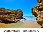 torquay is promoted as the... | Shutterstock . vector #1063386077