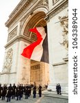 paris  france   march 23  2015  ... | Shutterstock . vector #1063389044