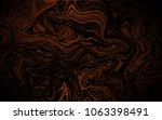 dark orange vector template... | Shutterstock .eps vector #1063398491