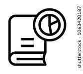 book graph  vector icon
