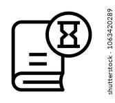 book loading  vector icon