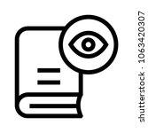 book view vector icon