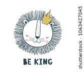 be king. vector illustration... | Shutterstock .eps vector #1063427045