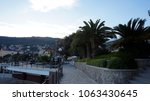 adriatic sea coast in opatija ...   Shutterstock . vector #1063430645