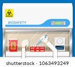virus protect work drug risk... | Shutterstock .eps vector #1063493249