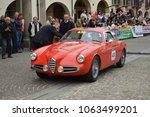 alfa romeo 1900 zagato  1000... | Shutterstock . vector #1063499201