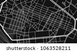 black white map city  parma | Shutterstock .eps vector #1063528211