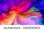 color in motion series....   Shutterstock . vector #1063565621