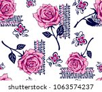 Roses Pattern Decorative...