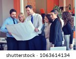 startup business people group... | Shutterstock . vector #1063614134