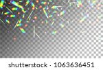 holographic background with... | Shutterstock .eps vector #1063636451