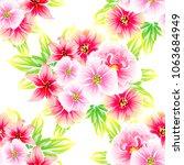 abstract elegance seamless... | Shutterstock .eps vector #1063684949