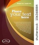 abstract business brochure... | Shutterstock .eps vector #106368884