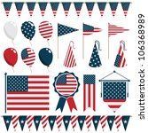 collection of united states of... | Shutterstock .eps vector #106368989