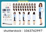 scientist character creation... | Shutterstock .eps vector #1063762997