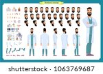 scientist character creation... | Shutterstock .eps vector #1063769687