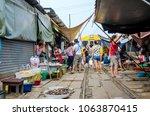 samut songkhram  thailand  ...   Shutterstock . vector #1063870415