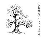 vector illustration of an old... | Shutterstock .eps vector #1063901291